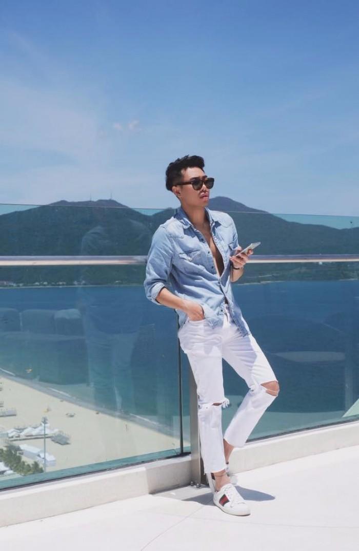 Học cách phối quần jean rách nam của các stylist việt nổi tiếng - 4