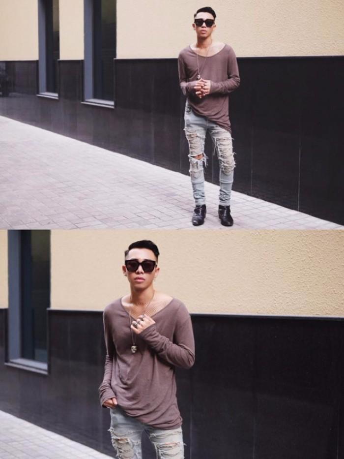 Học cách phối quần jean rách nam của các stylist việt nổi tiếng - 5