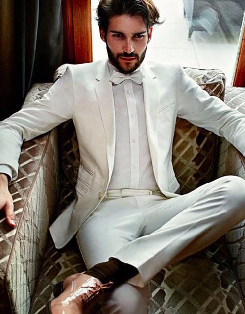 Cách diện đồ trắng chuẩn men dành cho nam - 2