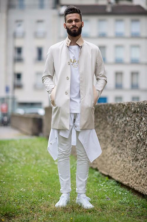 Cách diện đồ trắng chuẩn men dành cho nam - 5