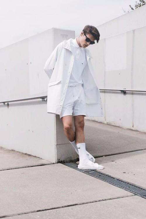 Cách diện đồ trắng chuẩn men dành cho nam - 3