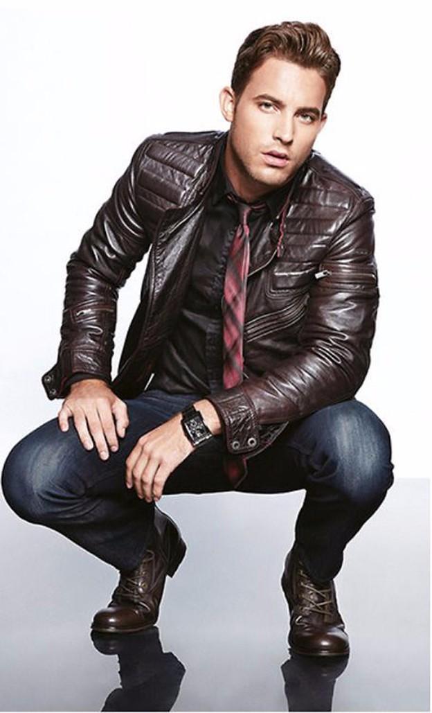 Bí kíp diện quần jean và áo khoác da nam đẹp trong ngày đông - 3