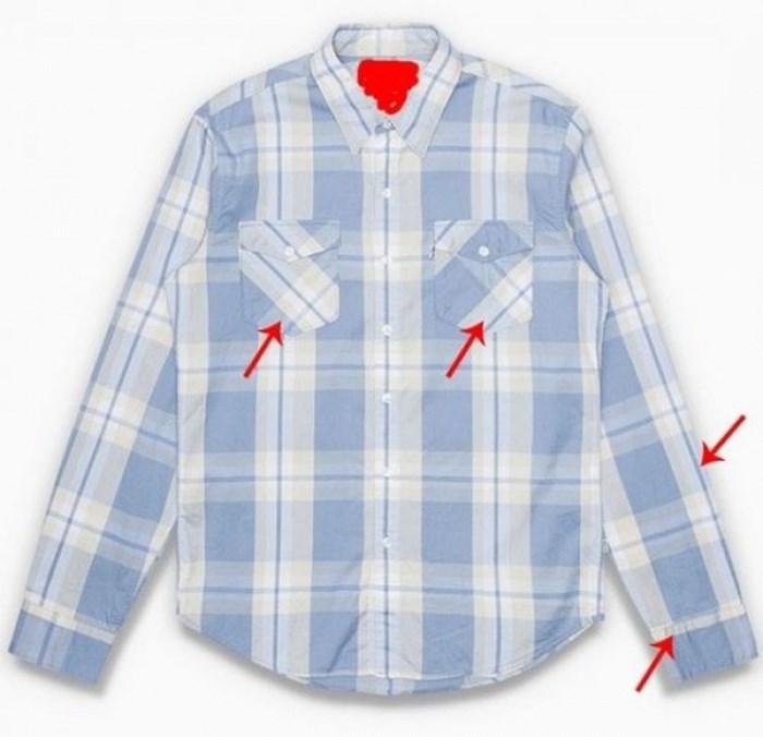 những điều cần lưu ý khi mua áo sơ mi caro hàng hiệu - 4