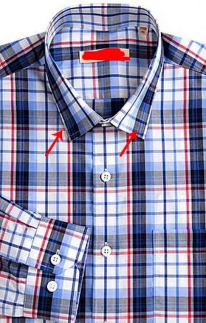 những điều cần lưu ý khi mua áo sơ mi caro hàng hiệu - 3