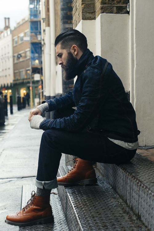 Học cách diện giày nam brogue của người anh - 5