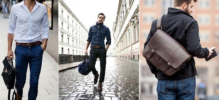 Cách chọn túi xách theo dáng người dành cho các nam giới - 4