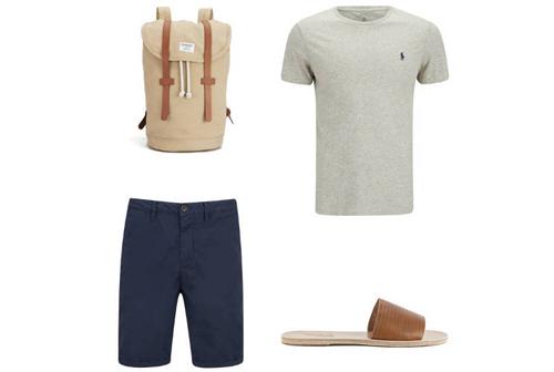 Cách mặc quần áo đi du lịch hè dành cho nam - 5