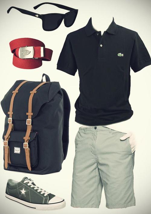 Cách mặc quần áo đi du lịch hè dành cho nam - 6