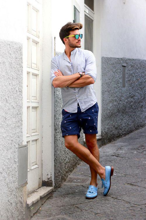 Cách mặc quần áo đi du lịch hè dành cho nam - 2