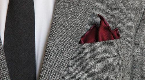 Hướng dẫn cách gấp khăn trang trí tui áo vest nam - 8
