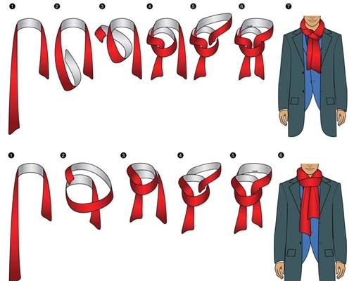 Tổng hợp những cách quàng khăn nam tính chuẩn men - 12