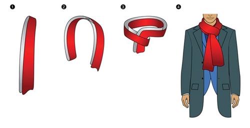 Tổng hợp những cách quàng khăn nam tính chuẩn men - 10