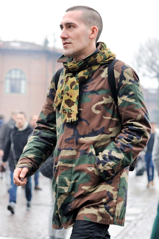 Cách diện thời trang nam camo mạnh mẽ trong mùa đông - 6