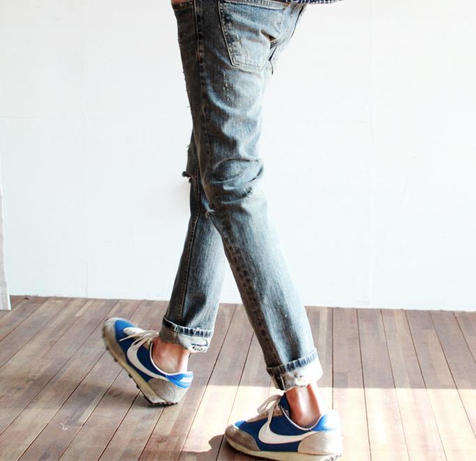 Mẹo xắn gấu quần jean nam cực cool - 2