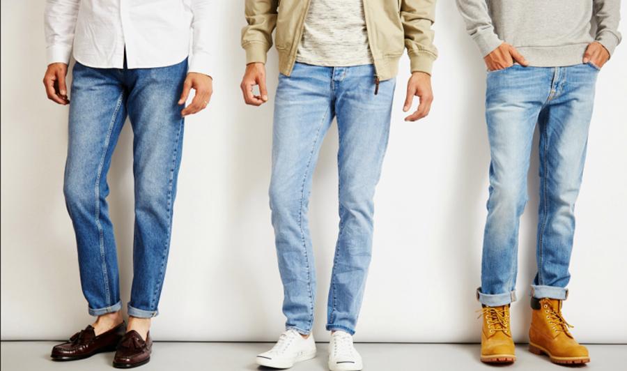 Mẹo xắn gấu quần jean nam cực cool - 1
