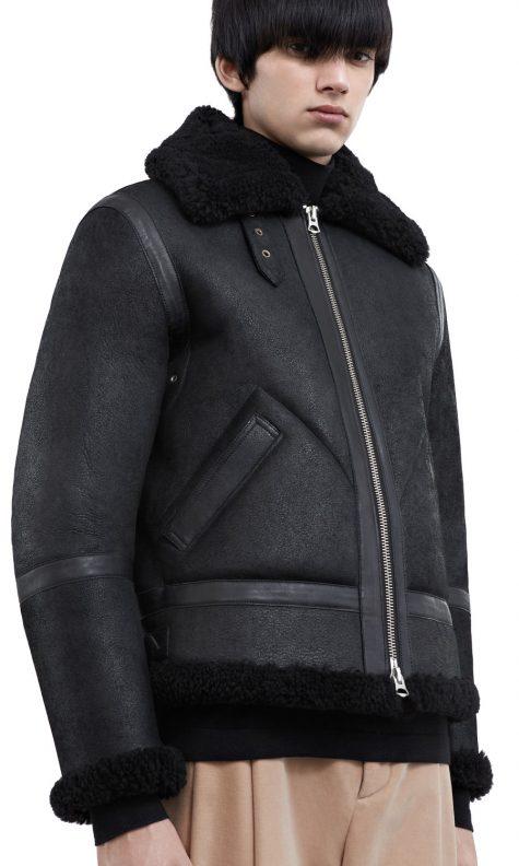 Những mẫu áo khoác da nam hot nhất 2017 - 2