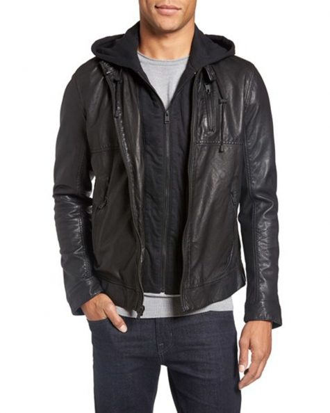 Những mẫu áo khoác da nam hot nhất 2017 - 8