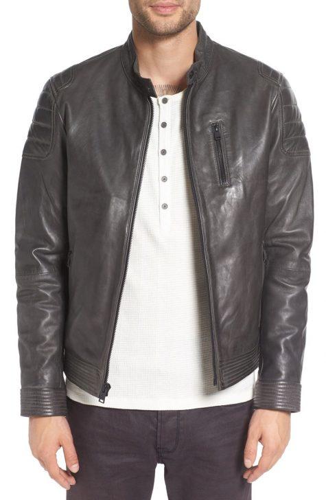Những mẫu áo khoác da nam hot nhất 2017 - 4
