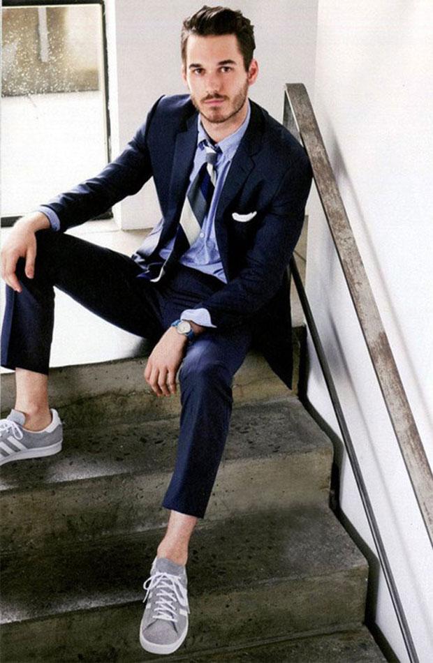 Xu hướng thời trang nam mạnh mẽ cùng giày sneakers - 1
