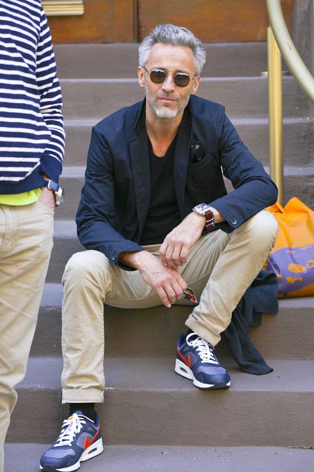 Xu hướng thời trang nam mạnh mẽ cùng giày sneakers - 8