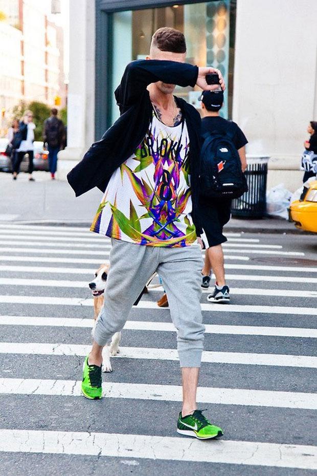 Xu hướng thời trang nam mạnh mẽ cùng giày sneakers - 14