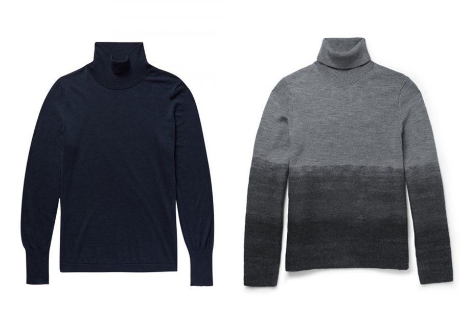 Cách diện áo cổ lọ nam trong mùa đông - 2