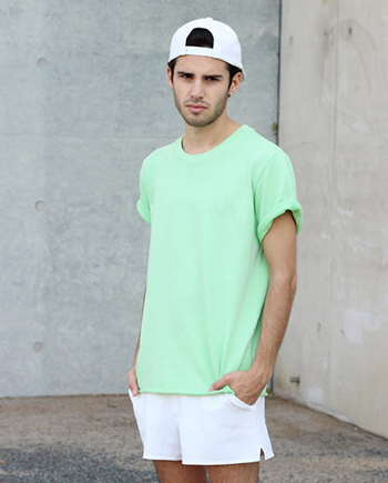 Cách diện đồ nam màu xanh bạc hà - 6
