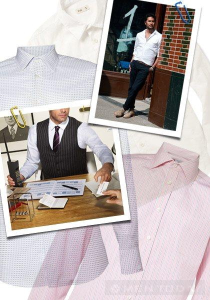 Những điều nên biết khi mặc áo sơ mi công sở dành cho các quý ông - 1