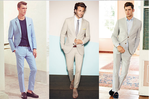 Bí quyết giúp quý ông công sở mặc đồ thoải mái ngày hè - 1