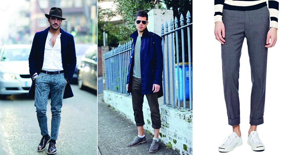Trẻ trung và hiện đại với phong cách xắn quần nam - 1