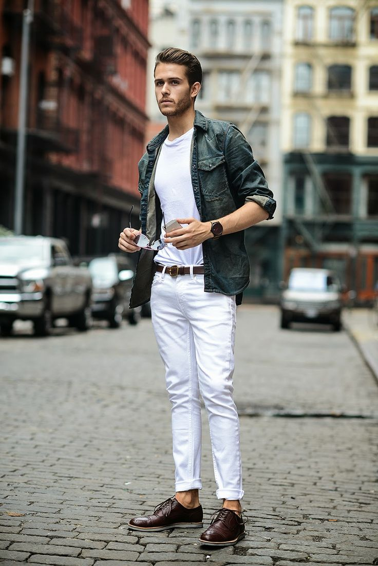 Trẻ trung và hiện đại với phong cách xắn quần nam - 3