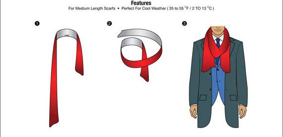 Giới thiệu 10 cách quàng khăn nam đẹp khi đi hẹn hò - 2