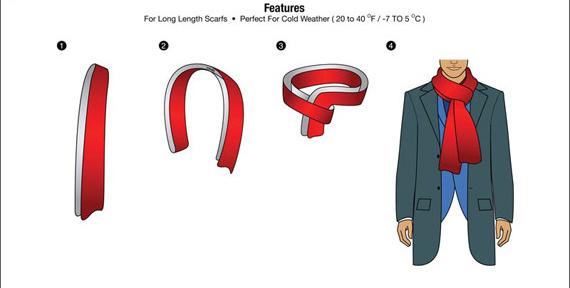 Giới thiệu 10 cách quàng khăn nam đẹp khi đi hẹn hò - 5