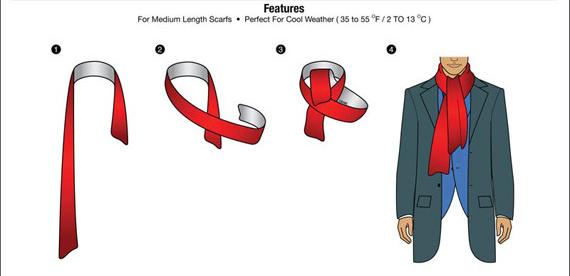 Giới thiệu 10 cách quàng khăn nam đẹp khi đi hẹn hò - 3