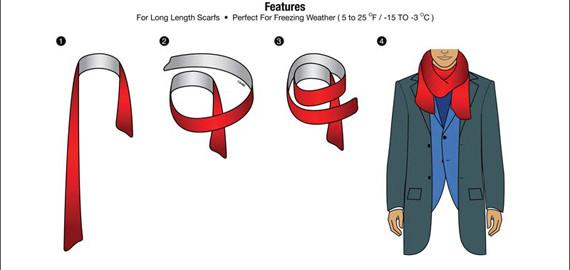 Giới thiệu 10 cách quàng khăn nam đẹp khi đi hẹn hò - 10