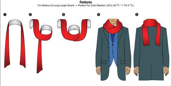 Giới thiệu 10 cách quàng khăn nam đẹp khi đi hẹn hò - 4