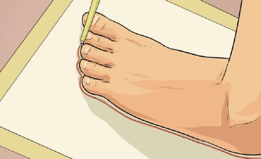 Cách đo size giày nam chuẩn 100 - 1