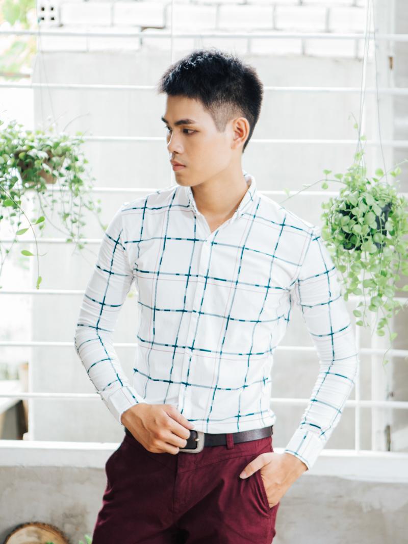Những mẫu áo sơ mi nam caro nam đẹp nhất hiện nay tại 4men - 4