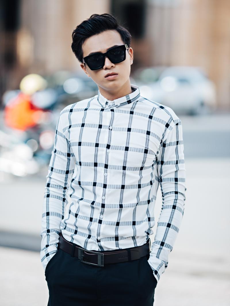 Những mẫu áo sơ mi nam caro nam đẹp nhất hiện nay tại 4men - 5
