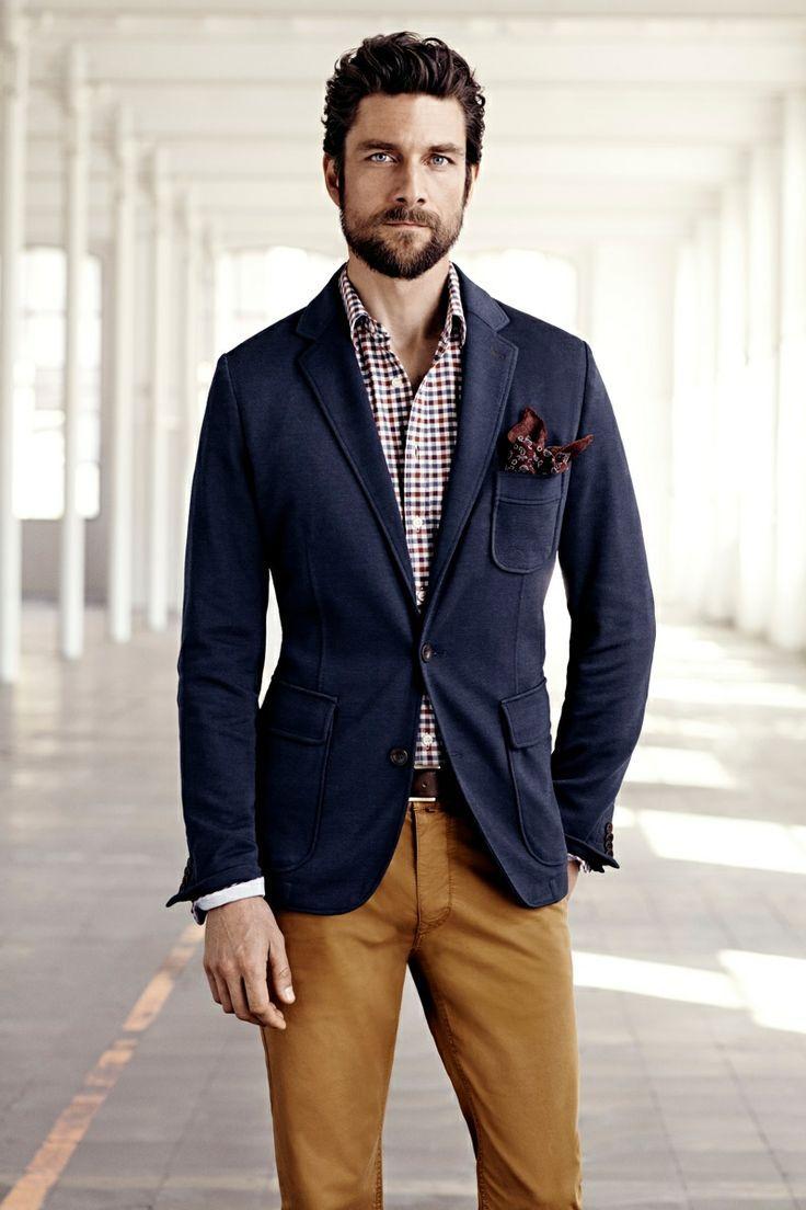 Cách mix đồ nam với vest xanh đen và xanh đậm - 6