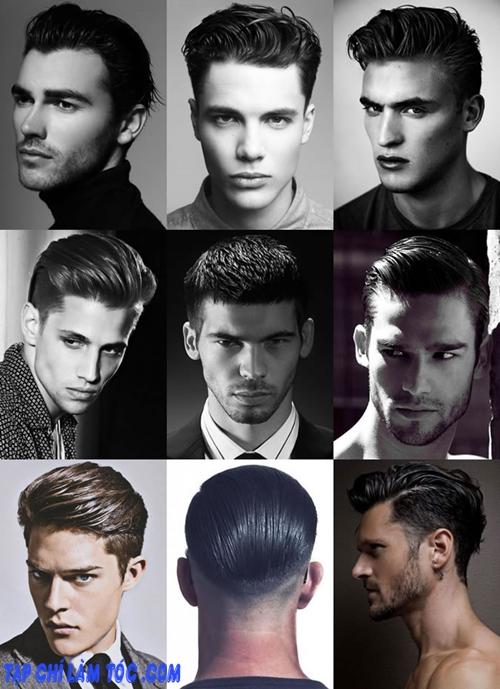 Những kiểu tóc nam đẹp đi dự tiệc cưới - 2