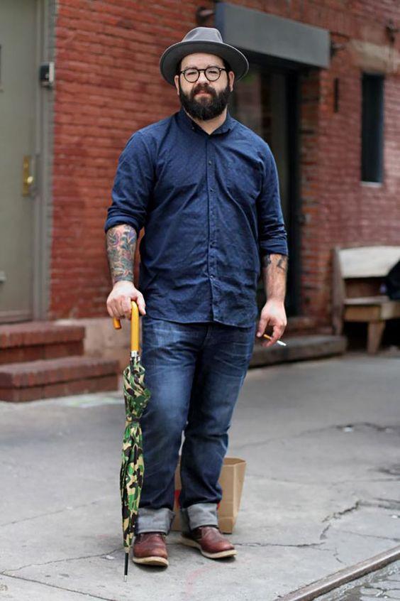 Nam mập tròn nên chọn quần jean như thế nào để đẹp và thời trang - 1