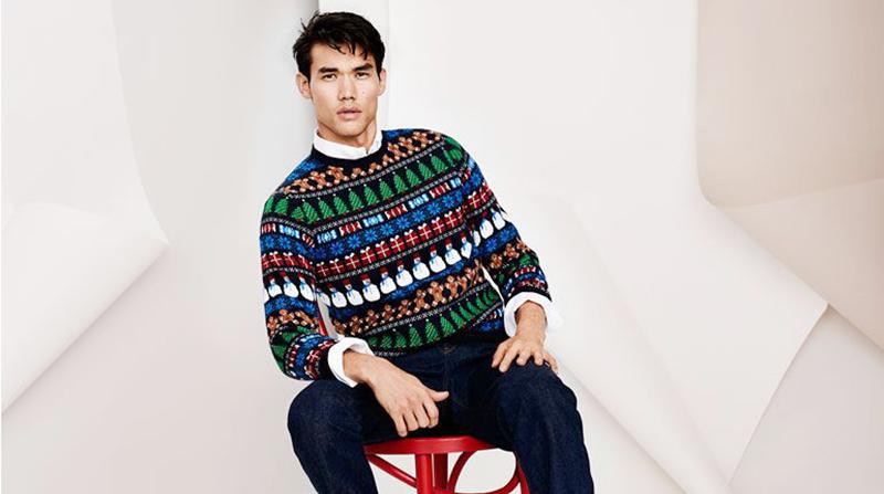 Những mẫu áo len nam đẹp khi gió mùa về - 4