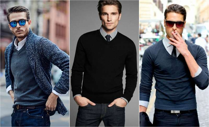 Những mẫu áo len nam đẹp khi gió mùa về - 2