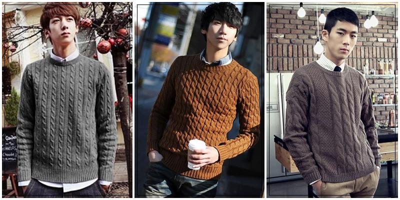 Những mẫu áo len nam đẹp khi gió mùa về - 3