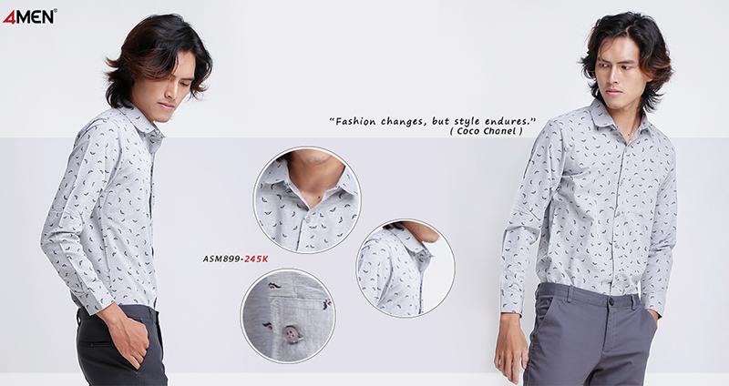 Những kiểu áo sơ mi nhất định phải có trong tủ áo của nam giới - 3