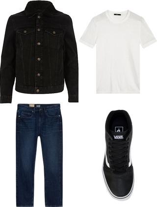 Cách phối màu áo khoác jean nam sành điệu - 4