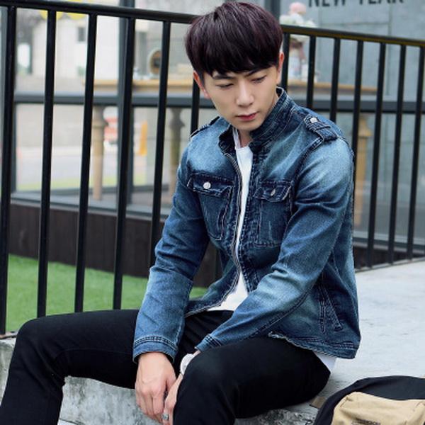 Cách phối đồ cùng áo khoác jean nam cực kỳ phong cách - 2
