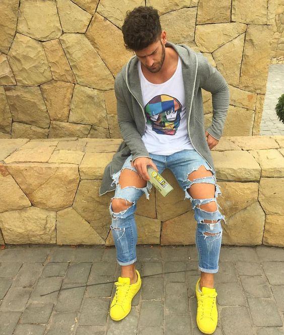 Phối quần jean và áo thun nam như thế nào - 3