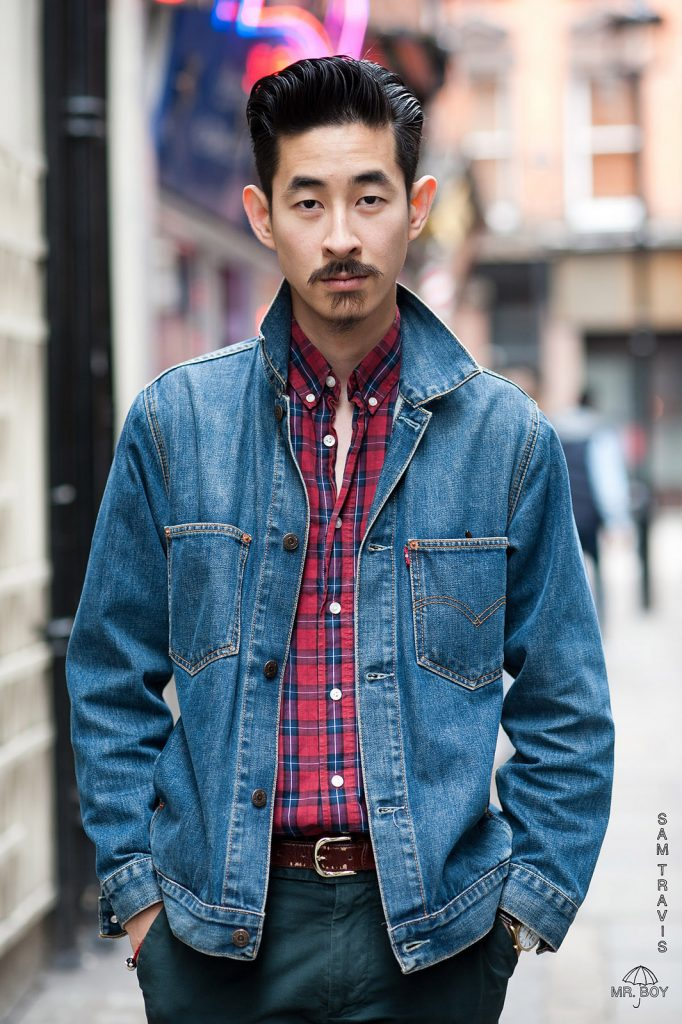 Cách phối đồ cùng áo khoác jean nam cực kỳ phong cách - 4